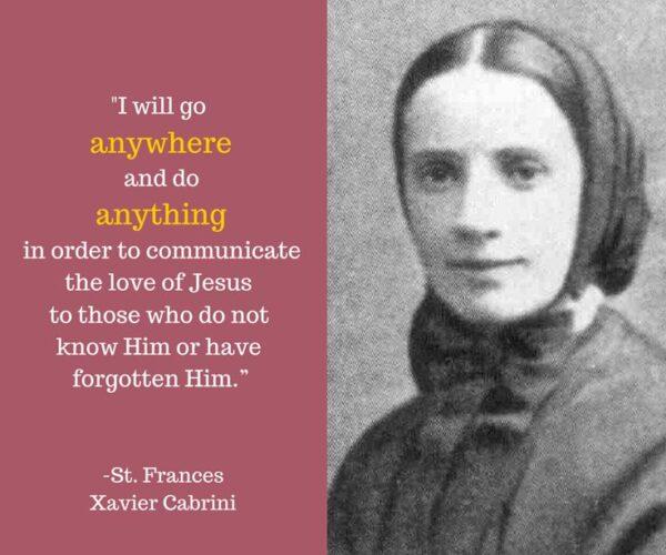 Mother Cabrini image